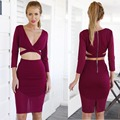 Women Sets Bodycon Party Playsuit Sexy Evening Slim Set And Jumpsuits
