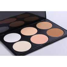Large Size Hot Pro 6 Color Concealer Makeup Set Cosmetic Concealer Paleta De Corretivo Concealer Eye Shadow Contour Palette Base