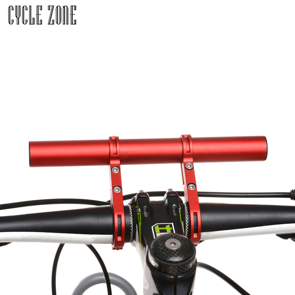 CYCLE ZONE 3 colors Bike Flashlight Holder Handle Bar Bicycle Accessories Extender Mount Bracket flashlight holder