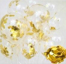 30pcs DIY Balloons Garland Kit Navy Blue Chrome Gold Metal Balloon Wedding Engagement Birthday Baby Shower Decor