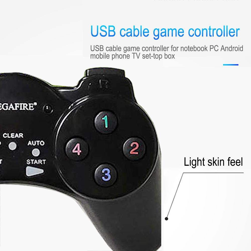 USB 1 1 2 0 Wired Controller Gamepad For Notebook PC Android Mobile Phone TV Set top Box Android Gamepad Joystick Pc in Gamepads from Consumer Electronics