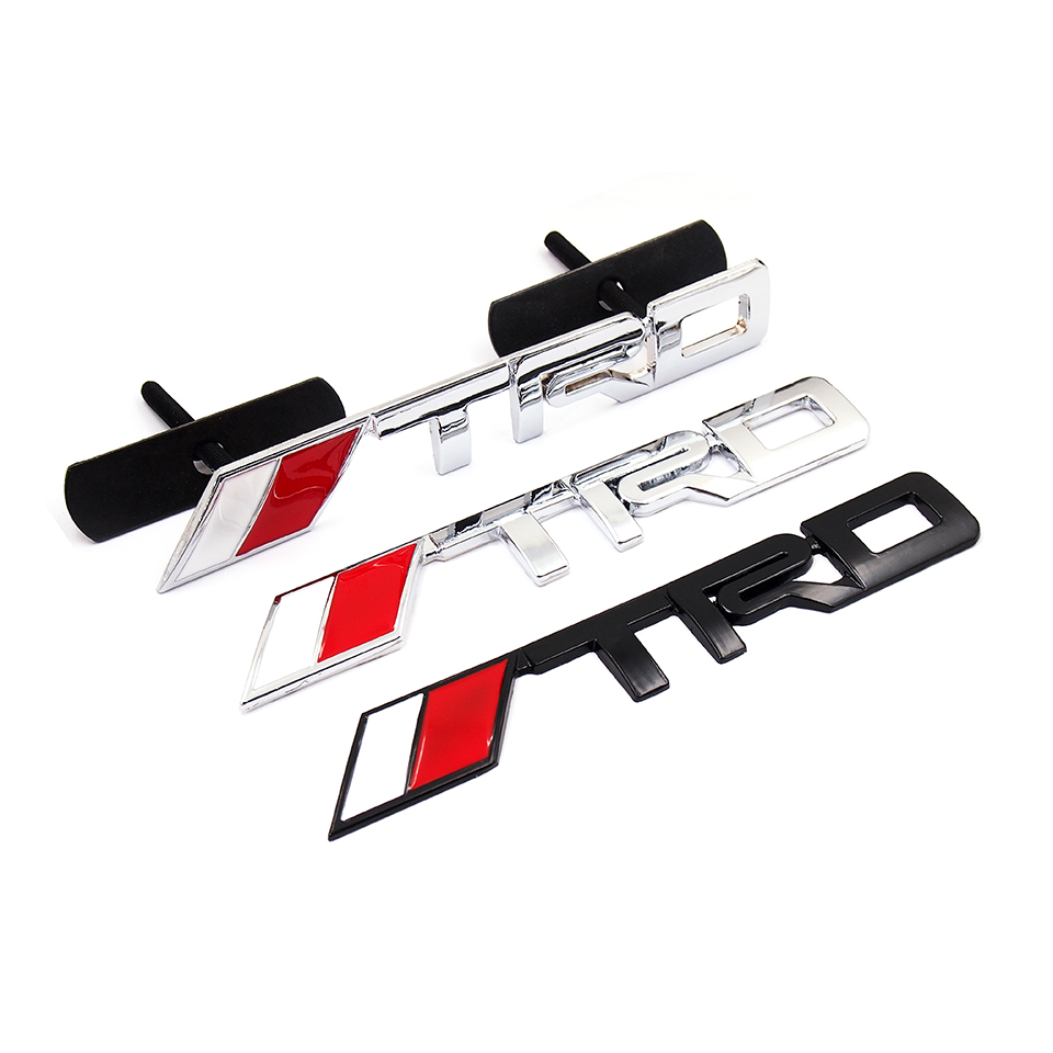 Toyota Rav4 Trd >> இ3D TRD Grille Emblem ᗜ Ljഃ Stickers Stickers Decal Fit For Toyota ᗐ Corolla Corolla Avensis Rav4 ...