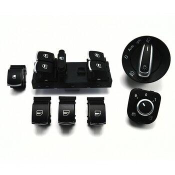Fenster scheinwerfer spiegel tankklappe schalter für VW Jetta Golf MK5 6 Tiguan 5ND959565A 5ND941431B 5ND959857 1KD959833 5ND959855