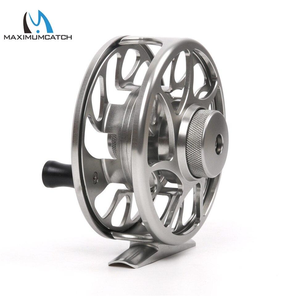 8 9 10wt cnc máquina corte alumínio fly carretel