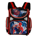 New 2015 Orthopedic Boys School Backpacks Waterproof Child Book Bag Spiderman Motorbike Girls School Bags Kids Satchel