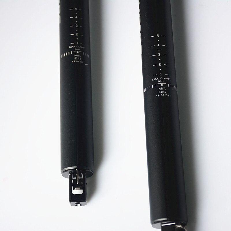 SATORI Shifter interna vivienda bici contacto interruptor remoto ajuste 30,9/31,6mm X 455mm viaje 145mm - 4
