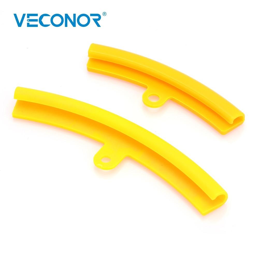 Wheel Rim Edge Saver Tyre Change Protection Cover Rim Protection Tool Polyurethane Material Yellow Exterior