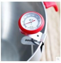 Кухня Стиль Пера Термометр Жареной пищи термометром удлинить красный силиконовый чехол