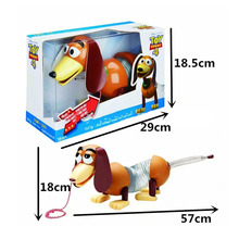 2019 Toy Story 4  Woody Slinky Dog Action Figures Model Toys Children Birthday Gift Collectible Doll Free Shipping цена 2017