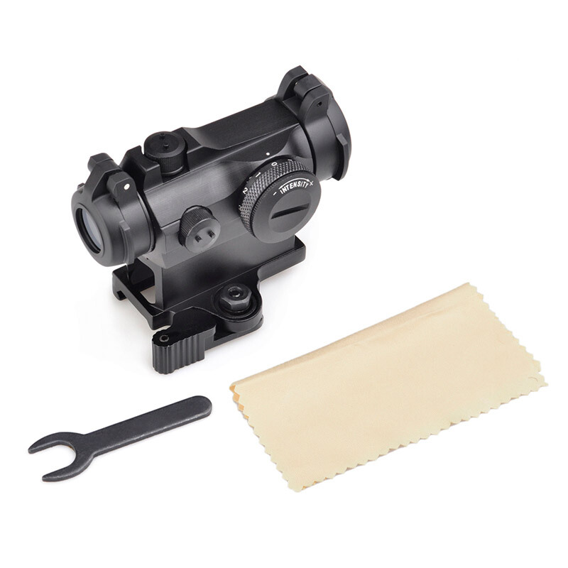 Aim Holographic Red Dot Sight With QD Mount Tactical RifleScope Hunting Shooting Rifle Scope AO5074 wipson tactical optical sights riflescope xps 3 2 holographic red green dot scope sight with qd mount