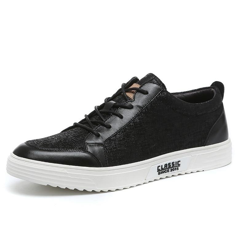Hommes Noir Mycoron Bottes Chaussures Sapato Masculino 2018 Mode Sneakers  blanc Appartements Luxe De automne Noir Designer Lacent Casual Printemps  EExwq4TRr 278c8efaf9e