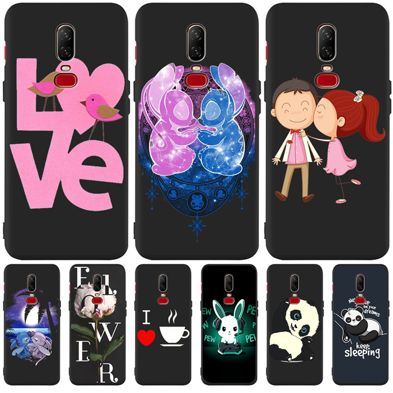 Luxury Stitch Love panda Flower cartoon Custom For One plus 5 5T font b 7 b