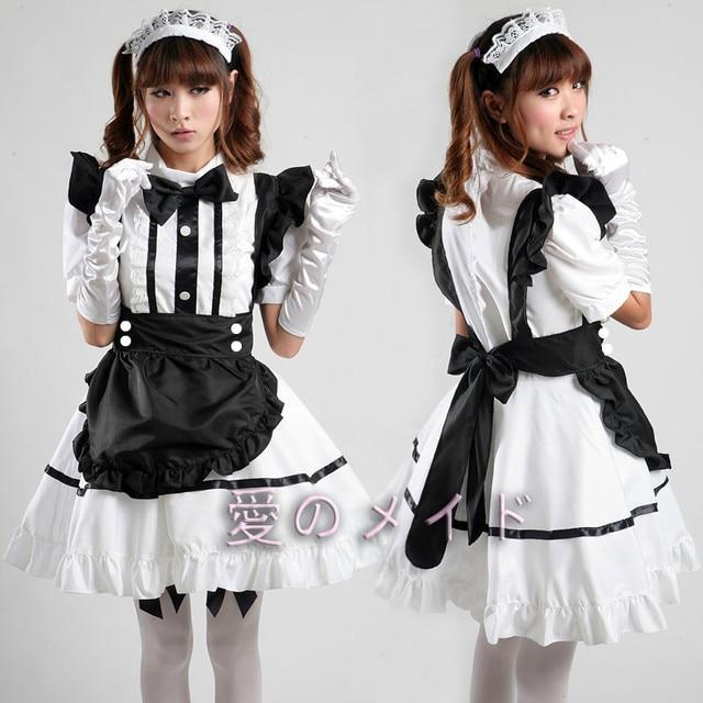 Sweet cute maid uniforms maid dress cosplay costumes women on sweet cute maid uniforms maid dress cosplay costumes women publicscrutiny Choice Image
