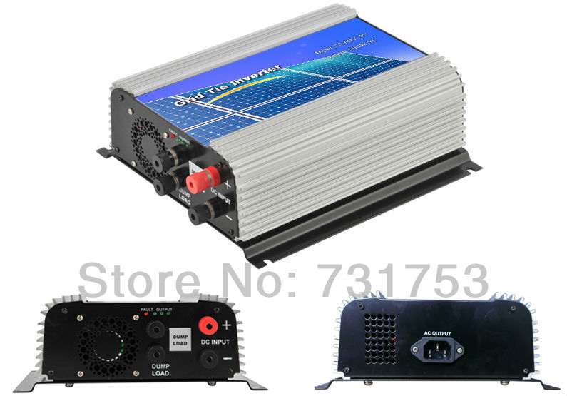600W Wind on Grid  Inverter For 48V (DC Wind Turbine) ,22-60VDC,90-260VAC ,50Hz/60Hz,No Need Controller and Battery,Free Ship maylar 300w wind grid tie inverter for 48v dc wind turbine 22 60vdc 90 260vac 50hz 60hz no need controller and battery