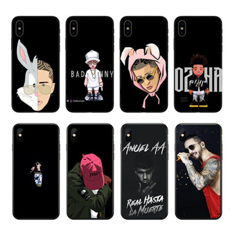 Cellphones & Telecommunications Sheli Bad Bunny Maluma Ozuna Frosted Softness Transparent Case Cover For Iphone X Xs Xr Max Se 5 5s 6 6s 7 8 Plus High Resilience