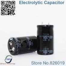 8pcs lot 400V 220UF Radial DIP Aluminum Electrolytic Capacitors size 25 40 220UF 400V
