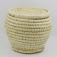 Handmade Rattan Basket Wicker Storage Basket Woven Seagrass Dirty Laundry Basket Hamper Home Decor Zeegras Mand