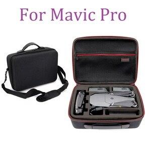 Image 1 - Çanta Için DJI Mavic Pro Hardshell Omuz Su Geçirmez Çanta Taşınabilir saklama kutusu Kabuk Çanta
