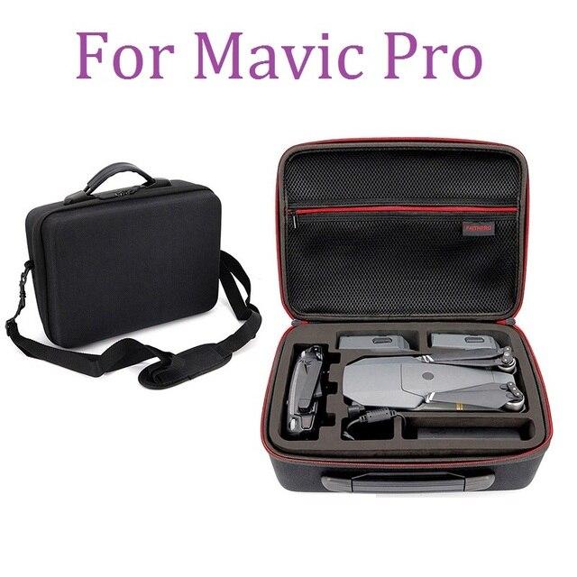 Çanta Için DJI Mavic Pro Hardshell Omuz Su Geçirmez Çanta Taşınabilir saklama kutusu Kabuk Çanta