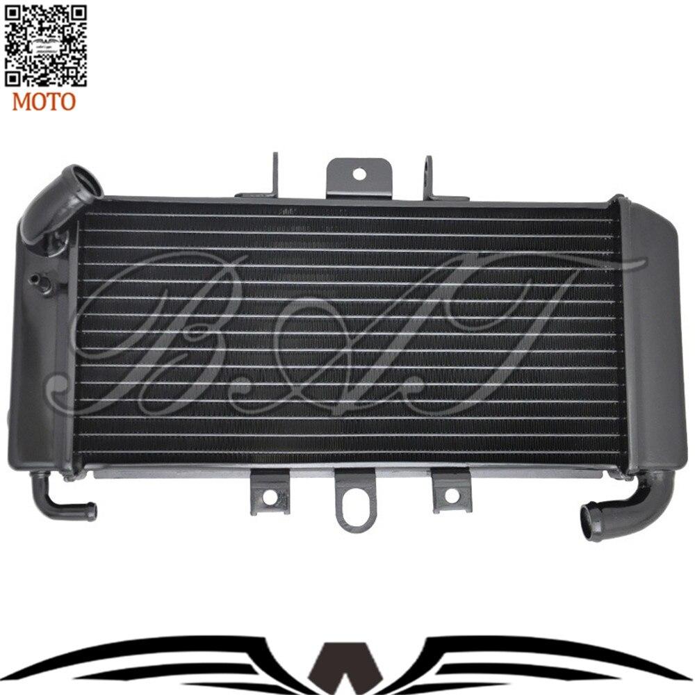 Motorcycle Accessories Cooling Aluminum Cooler Radiators For Yamaha FZ600 Fazer 600 FZ6 FZS600 1998 1999 2000 2001 2002 2003