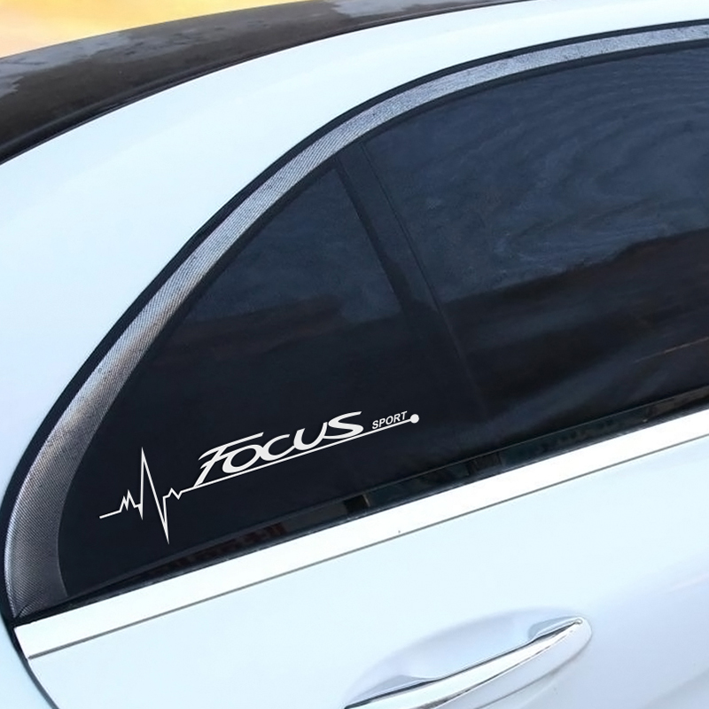 Image 3 - 2PCS Car Stickers Side Window Decal For Ford Focus 2 3 1 MK2 MK3 MK1 Captivating Window Decoration Sport Decals Auto Accessories-in Car Stickers from Automobiles & Motorcycles