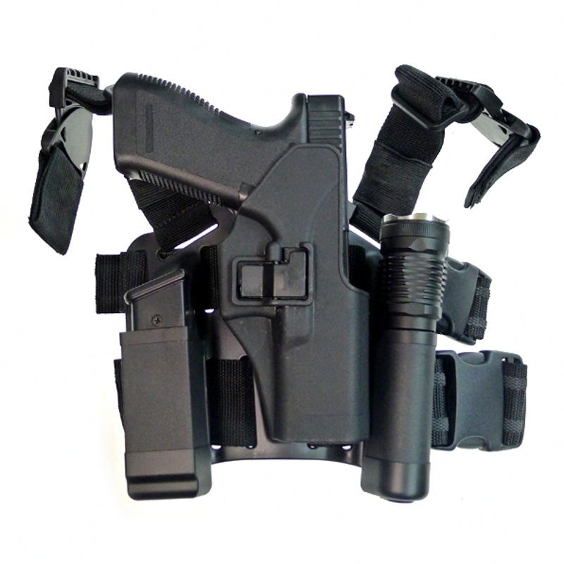 CQC Tactical Airsoft Glock Pistole Holster Drop Bein Holster Jagd Zubehör Pistole Pistole Halter Glock 17 19 22 23 31 32