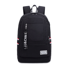 Backpack female Korean fashion student high school backpack junior high school college campus canvas middle school student bag wenjie brother canvas shoulder college wind high school student bag junior high school student travel backpack small fresh