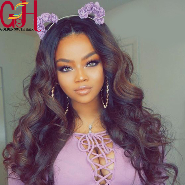 180 Density Remy Brazilian Full Lace Wig With Baby Hair Ombre Lace Wig Human Hair Full Lace Wig Ombre Lace Front Human Hair Wig