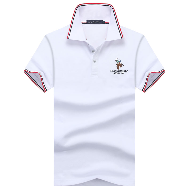 Classic Eden Park Men's   Polo   Shirt Cotton Slim Golf Summer Cool Shirts Short-Sleeved Elasticity   Polos   European size M-3XL;YA266
