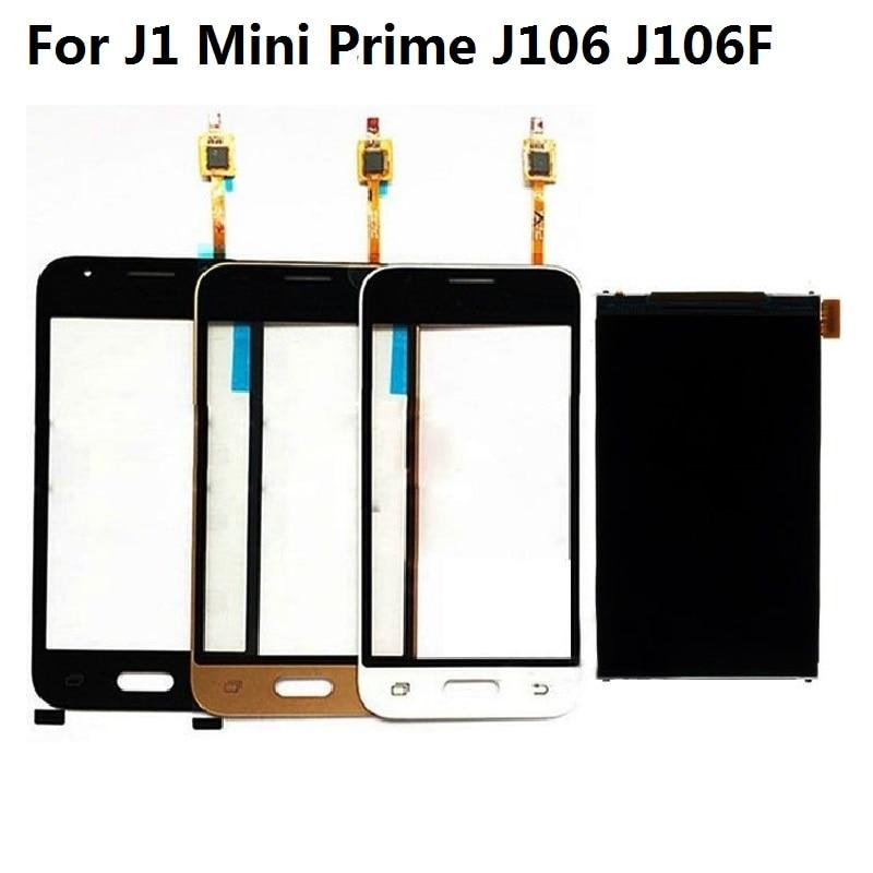 For Samsung Galaxy J1 Mini Prime J106 J106F J106H J106F/DS LCD Display Screen + Touch Screen Digitizer Sensor + Adhesive + Kits