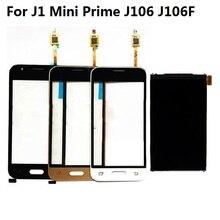 Купить онлайн Для samsung Galaxy J1 мини премьер J106 J106F J106H J106F/DS ЖК-дисплей Экран дисплея + Сенсорный экран планшета Сенсор + клей + Наборы