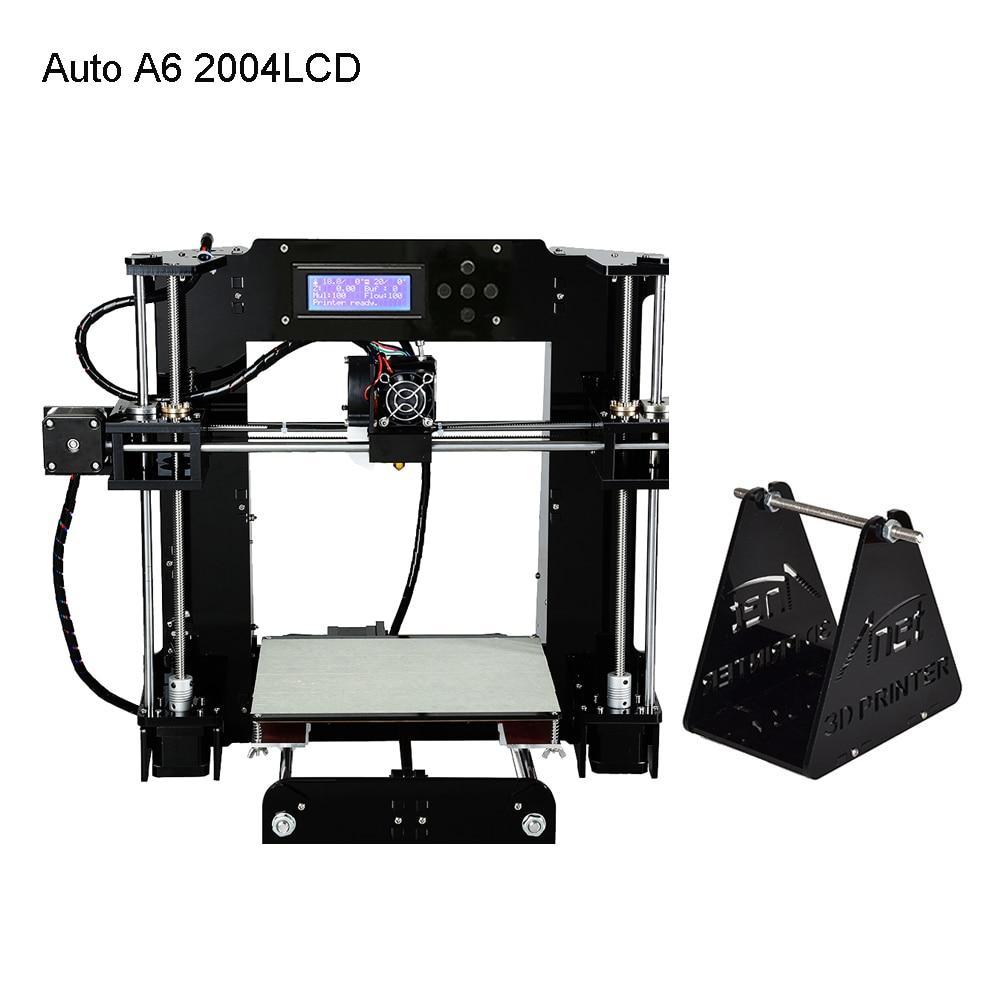 Anet A8 A6 niveau automatique A8 A6 imprimante 3d haute précision extrudeuse Reprap Prusa i3 3D imprimante Kit bricolage Impresora 3d avec Filament PLA - 2