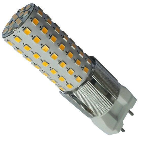 Новые <font><b>G12</b></font> SMD 2835 10 Вт светодиодные холодный белый/теплый белый Горизонтальное Подключите лампа AC85-265V Бесплатная доставка