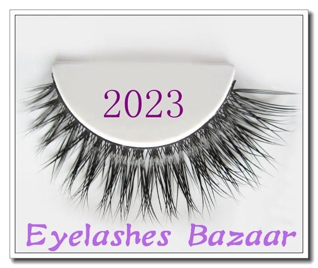 Frete grátis 2023 1 pçs/lote handmade cílios pele de vison real