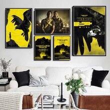 Twenty One Pilots рок-музыкальная группа Тренч Тур постер печать на стену Искусство Современная живопись настенные картины для гостиной домашний декор