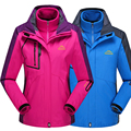 New women men jacket winter coats for women Down Parkas thermal Windbreaker jackets Outerwear Chaqueta Waterproof Three-pieces