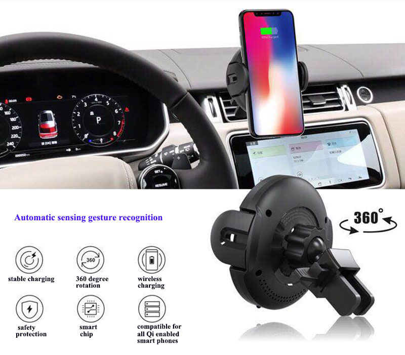 10Infrared Sensor Car Charger