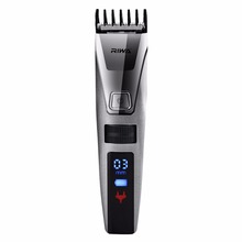 Riwa перезаряжаемый Электрический IPX5 Водонепроницаемый ЖК-дисплей триммер для волос Машинка Для Стрижки Набор для стрижки головы машинка для стрижки волос Сменное лезвие