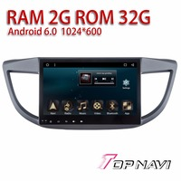 Car Media Players for Honda CRV 2012 2013 2014 2015 10.1'' Topnavi Android 6.0 OS Free Map Update rear View Camera Vehicle PC