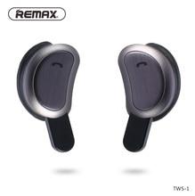 цена Remax TWS Bluetooth earphones wireless 3D stereo Double ear phones headset  handsfree calls Mini Wireless Bluetooth 4.1 онлайн в 2017 году