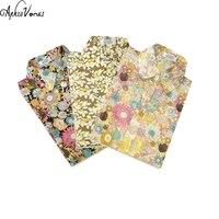 2017 Newest Women Floral Print Cotton Shirt Lady Autumn Summer Blusa Plus Size 5XL Vintage Turn