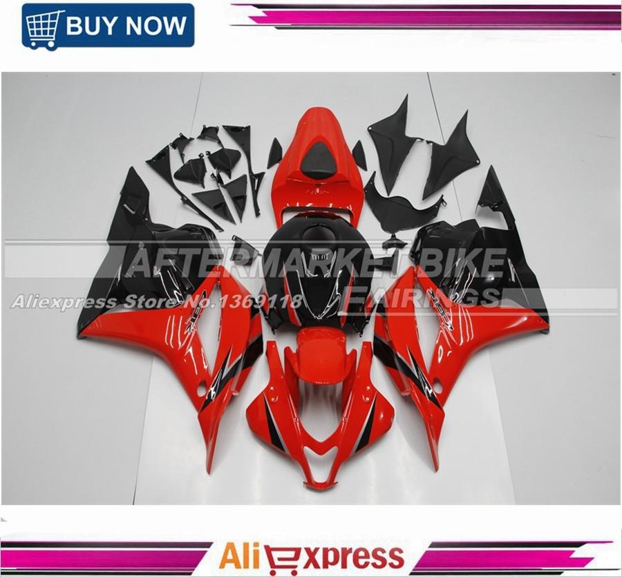 A Honda 2009 2010 2011 2012 CBR600RR F5 ABS díszlécek RED & - Motorkerékpár tartozékok és alkatrészek