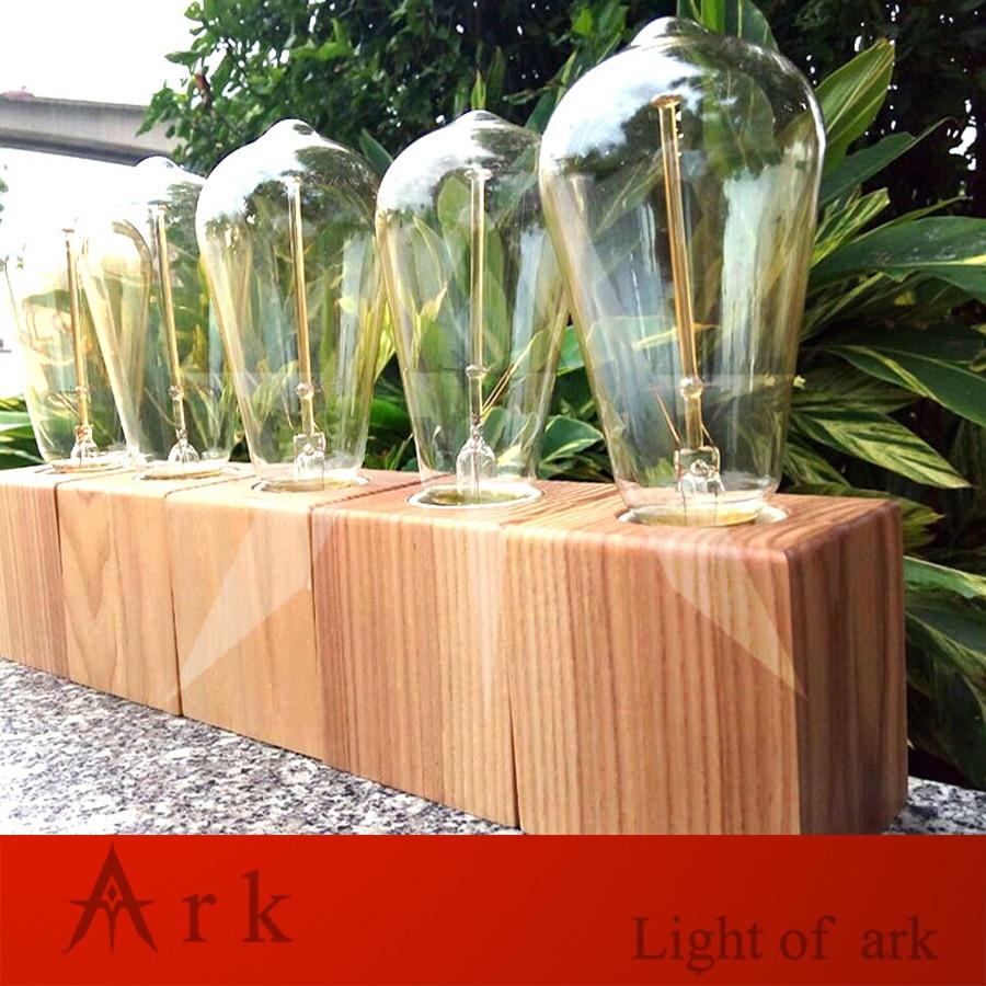 Acquista all'ingrosso online moderna lampada da tavolo in legno da ...