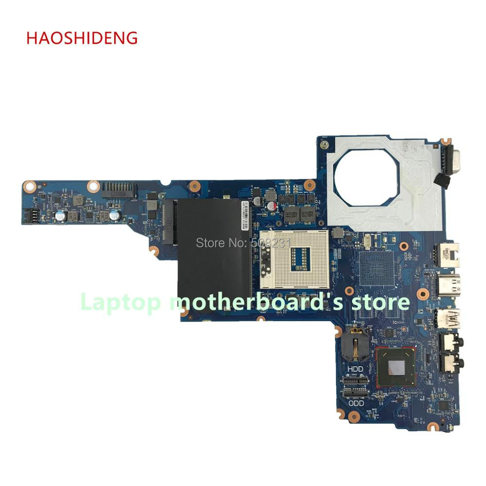 цена на HAOSHIDENG 685107-501 685107-001 6050A2493101-MB-A02 For HP compaq 1000 2000 250 450 series Motherboard HM75 fully Tested
