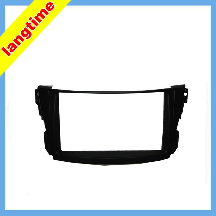 Car refitting DVD frame,DVD panel,Dash Kit,Fascia,Radio Frame,Audio frame for 02-07 Toyota Caldina T240, 2 DIN