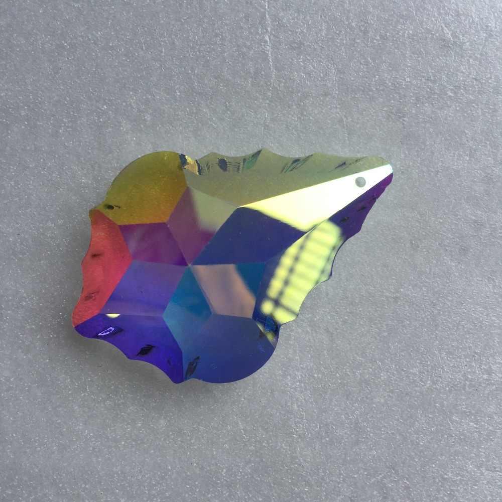AB 10 шт./лот 63 мм хрустальные подвески для люстры стеклянные детали призмы для свадебных нитей стеклянные подвески для ламп