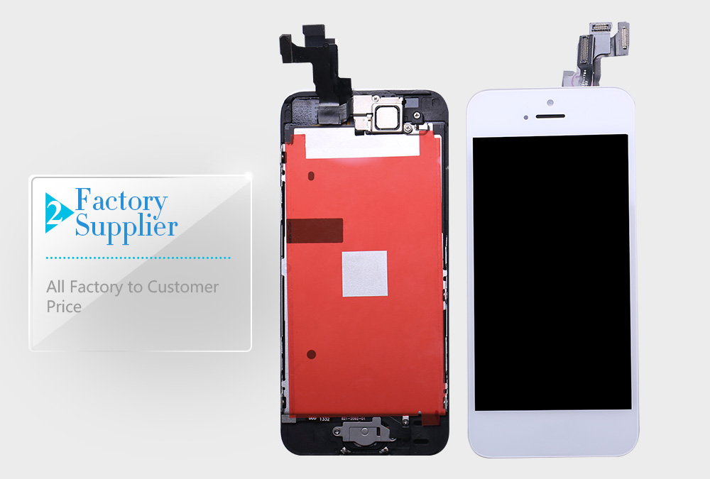 HTB1eqBwX5frK1RjSspbq6A4pFXam Full Assembly LCD Display for iPhone 5s 6s se 6 Touch Screen Digitizer Replacement with Home Button Front Camera Complete LCD