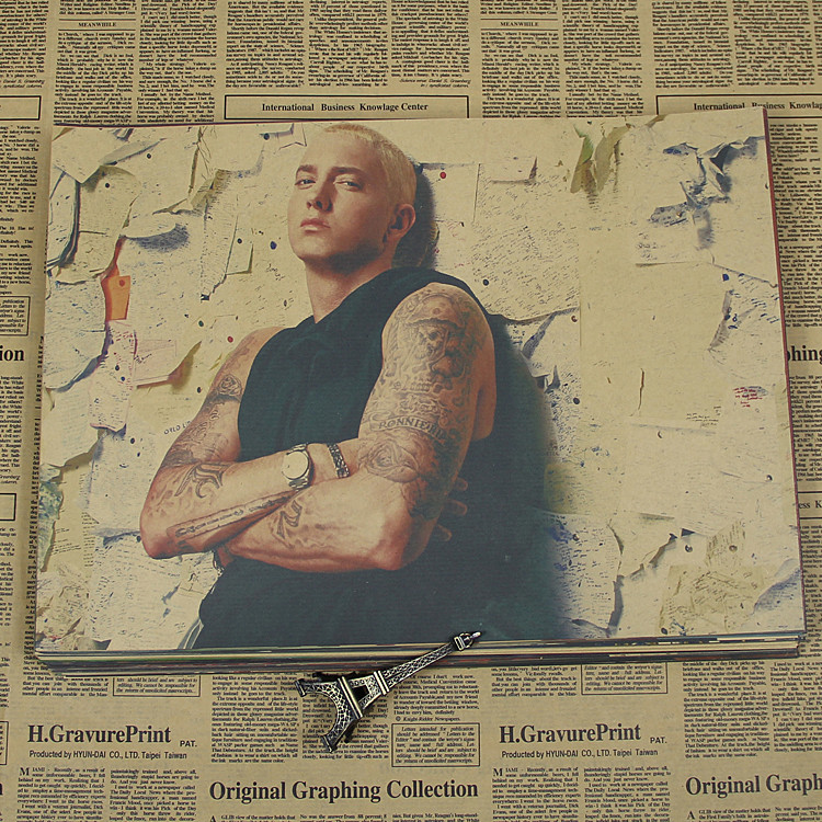 Detail Feedback Questions about Singer Eminem Retro Poster