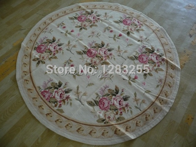 100% wool 2014 Direct Selling Promotion Alfombra Rugs And Carpets Tapete Hand-stitched Needlepoint Rug Zc2123 1.8x1.8m Carpets