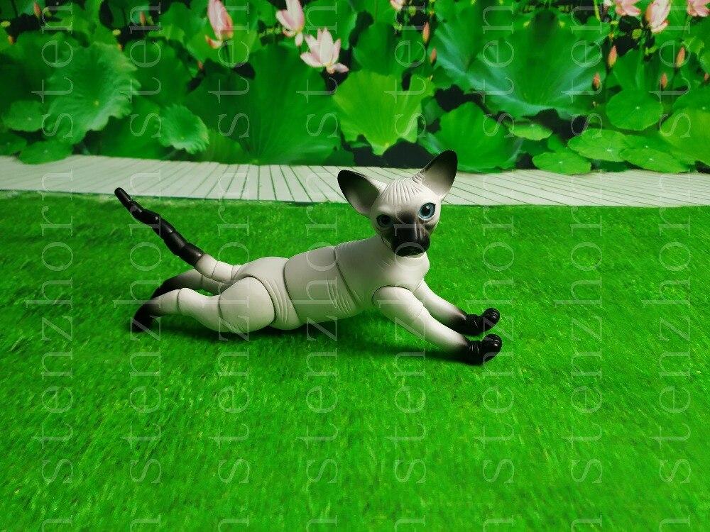 Stenzhorn Nuovo bambola bjd hairless cat animale giocattolo della bambola di modo di trasporto occhi-in Bambole da Giocattoli e hobby su  Gruppo 1